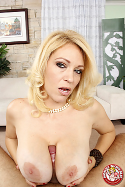 Charlee Chase shows her awesome cocksucking skills