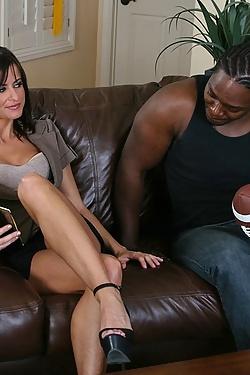 Cecilia Vega fucking a big black cock