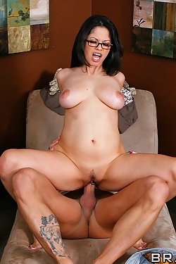 Evie Delatosso jumps on her patient and takes him for a personal joyride