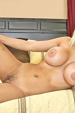 Carmel Moore invites him home to try her new and improved tits