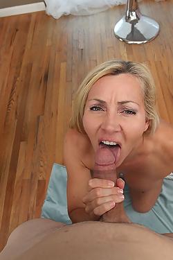 Lisa Demarco Shapely Blonde Milf Satisfies Boy%E2%80%91toy Cravings