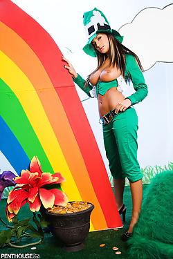 Lana Lopez Gets Luck Of The Irish From Lusty Busty Leprechaun Amy Reid
