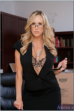 Brandi Love Horny Cougar Turns Getting Fired Into A Plus