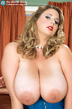 Michelle May - Corset,  Stockings and Garters