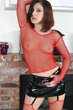 Renee Pornero Mesh And Latex